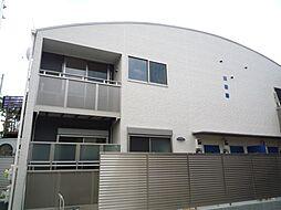 東京都世田谷区粕谷2丁目の賃貸アパートの外観