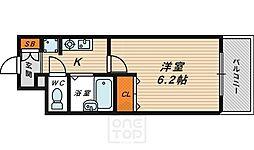 エスリード京橋ステーションプラザ[5階]の間取り