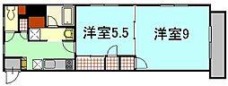プレリュード段原[7階]の間取り