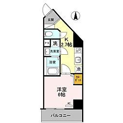 プリメーロ 66[3階]の間取り