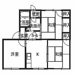 タウニィ神田[1階]の間取り