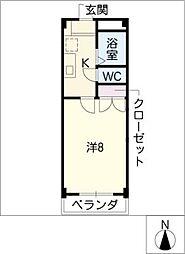 グランメゾンSANGO[2階]の間取り