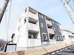 千葉県松戸市六高台3丁目の賃貸アパートの外観