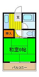 ファミールハイム[2階]の間取り