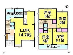 名古屋市天白区表山3丁目 3号棟 新築一戸建て