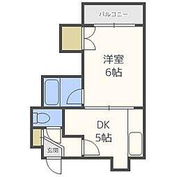 エスポワール32[4階]の間取り
