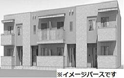 岡山県倉敷市広江1丁目の賃貸アパートの外観