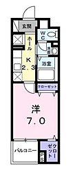 アロッジオ K[303号室]の間取り