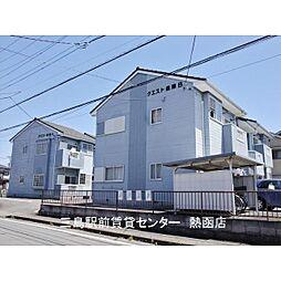 静岡県三島市安久の賃貸アパートの外観