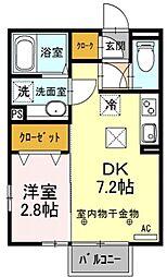 勝山[1階]の間取り