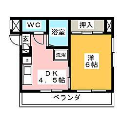J'sハイツ[2階]の間取り