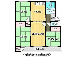 兵庫県神戸市須磨区菅の台2丁目の賃貸マンションの間取り