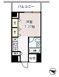 メゾン・ド・ヴィレ麻布台[12階]の間取り