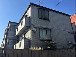 東京都文京区小日向2丁目の賃貸アパートの外観