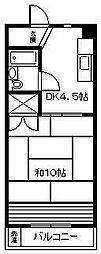 第2サンハイツ[305号室]の間取り