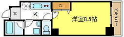 プレシャスYM[5階]の間取り