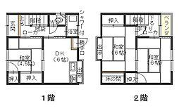 [タウンハウス] 広島県呉市広古新開5丁目 の賃貸【/】の間取り