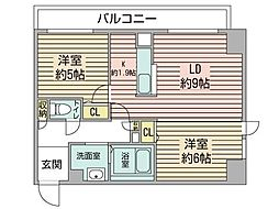 KDXレジデンス南三条[10階]の間取り