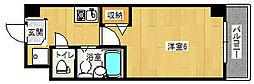 大阪府大阪市西淀川区出来島2丁目の賃貸マンションの間取り