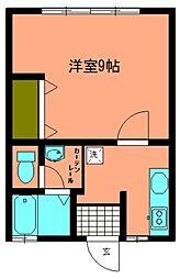 コ-ポ菖蒲[101号室]の間取り