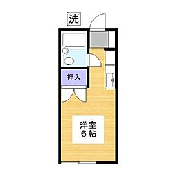 ひかりハイツ第1[2階]の間取り
