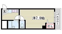 西新町駅 4.3万円