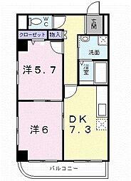 アーバンルネッサンス[3階]の間取り