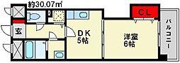 Casa gialla[3階]の間取り