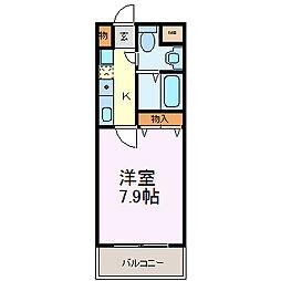 Mステージ栄[903号室]の間取り