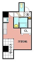 リード桜坂[0707号室]の間取り