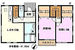 [一戸建] 埼玉県川口市大字芝 の賃貸【/】の間取り