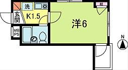 エクセル新高円寺[4階]の間取り