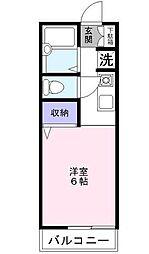 ソフィアIII[1階]の間取り