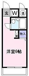 東京都世田谷区南烏山6丁目の賃貸マンションの間取り