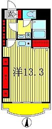 シャンボール新松戸[7階]の間取り