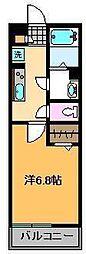 リブリ・イシン[1階]の間取り