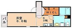 Drafi参番館[1階]の間取り