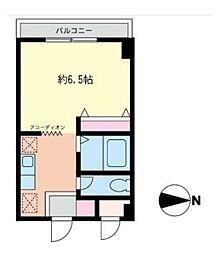 モトハウス[2階]の間取り