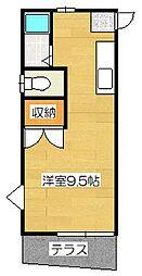 ストーンビレッヂ A棟[2階]の間取り