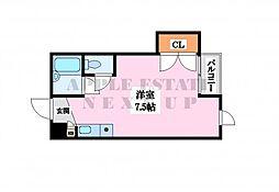シャンスー源氏ケ丘[3階]の間取り