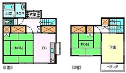 [一戸建] 静岡県富士市石坂 の賃貸【静岡県 / 富士市】の間取り