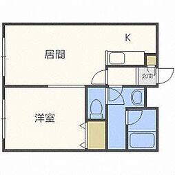 ミラージュ円山[3階]の間取り