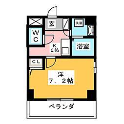 K's house 玉の井[9階]の間取り
