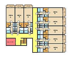 アルンハイム新石切[2階]の間取り