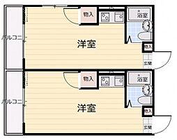 グリーンハイツ草津I[2階]の間取り