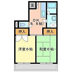 ニューウィング幕張2[1階]の間取り
