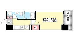 アドバンス神戸プラージュ[5階]の間取り
