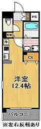 エルセレーノ千島[3階]の間取り