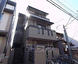 京都府京都市中京区新シ町通御池上る織物屋町の賃貸アパートの外観