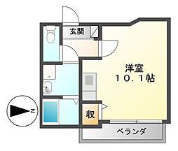 第一中央ビルディング[3階]の間取り